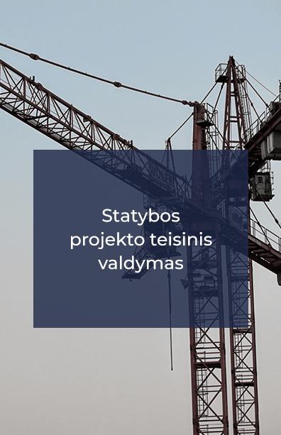 nt projektai statybos atstovavimas